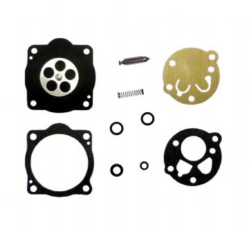 Carburettor Diaphragm, Needle, Seal, Kit, Kawasaki KT12, KT12AD, TZ022D Engine, Trimmer, Brush Cutter Parts